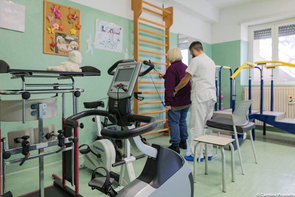 RSA Valle dei Casali, Fisioterapia